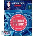 Detroit Pistons NBA Official Licensed Primary Team Logo Iron Sewn On Patch on eBay