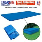 Rectangular Swimming Paddling Pool Cover Inflatable Easy Fast Set Rope