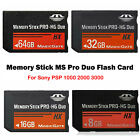 For Sony PSP 1000 2000 3000 8GB 16GB 32GB 64G Memory Stick MS Pro Duo Flash Card