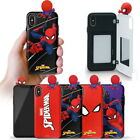 Spider Man Figure Mirror Card Case for Apple iPhone 11/Pro/Max/ XR XS X 8 7 6