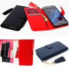 Shiny Wallet Case for LG X5 2018 / X Power2 / X Charge / X500 / K10 K8 2017