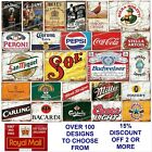 Metal Retro Tin Signs Pubs Bars Man Cave Garage Shed Vintage Wall Poster Beer £6.95  on eBay