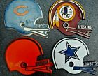 "Vintage 1980's  National Football League Fridge Magnets (1.5"") $5.0 USD on eBay"