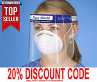 Face Shield Cover Face Mask Visor For Work Shield Reusable Mouth Protector 2 5