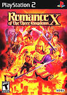 Romance of the Three Kingdoms X 10 Complete in case w/ Manual PlayStation 2 PS2