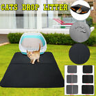 Cat Litter Tray Mat Double-Layer Portable Foam Foldable Pad Pet Rug Trapper  ~