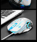 Gaming Mouse Wired Gaming mouse 6 Button LED Optical USB Backlight Computer Lap