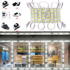 US 10ft~160ft 5054 SMD 6 LED White Module Light Lamp + Remote With Power Supply