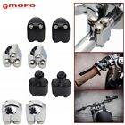 2x Motorcycle 3-Button Hand Control Momentary Switch Gear For 7/8