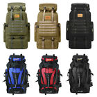 70L Outdoor Camping Hiking Backpack Rucksacks Climbing Travel Bag for Men Women