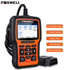 Foxwell All System OBD2 Diagnostic Scanner ABS SAS DPF EPB Oil TPMS Reset