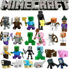 Minecraft My World Series Characters Mini Figures Building Blocks Fit Lego MOC