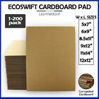 Corrugated Cardboard Pads Sheets Inserts for Shipping Scrapbook 23 ECT 1/8' more