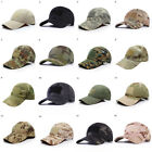 Men Tactical Operator Camo Baseball Cap Military Army Special Forces Airsoft Cap