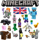 Custom LEGO MINECRAFT Mini Figures - Story Mode Steve Alex Wither Golem