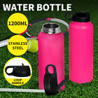 Stainless Steel Water Bottle Vacuum Insulated Thermos Double Wall with Straw