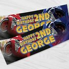 Disney+Cars+Birthday+Banner+-+Personalised+Cars+Children+Party+Banners+x+2