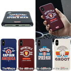 Avengers Vintage Hard Case for  Apple iPhone 11/ Pro/ Max/ XR XS X 8 7