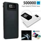 500000mAh Power Bank Charger Battery Pack Portable Dual USB For Mobile Phone UK