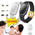 Ultrasonic Anti Mosquito Insect Pest-bug Repellent Repeller Bracelet Wrist Watch