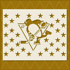 Pittsburgh Penguins Stencil - 14x11 - 11x8.5 - Reusable Mylar $19.46 USD on eBay