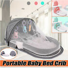 Kyпить Foldable Baby Bed  Mosquito Net Infant Sleeping Basket Travel Sunshade Bassinet  на еВаy.соm