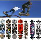 """31"""" X 8"""" Complete Skateboard, 9 Layer Canadian Maple Wood Long Board Deck Maple! image"""
