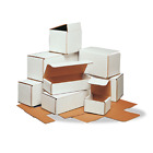 10X5X5 WHITE CORRUGATED MAILERS MANY SIZES SHIPPING PACKING BOXES MAILERS BOX
