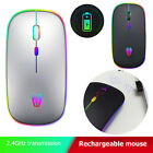 A5 Wireless Micro-USB Rechargeable Mouse Colorful Breathing Light Game Mice BEST