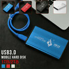 Portable USB 3.0 2TB 1TB External Hard Drive Disks HDD 2.5 Fit For PC Laptop