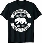 Funny Camping T-Shirt - Grizzly Bear Soft Taco Shirt Size S-5XL
