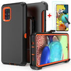 For Samsung Galaxy A51 5g Case Cover W/screen & Belt Clip Fit Otterbox Defender