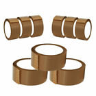 LONG LENGTH BROWN / CLEAR / FRAGILE STRONG 48mm x 66M PACKING PARCEL TAPE ROLLS