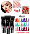 Poly Builder Gel DIY Kit Jelly Crystal Nail Art Glue Quick Extension POLYGEL set