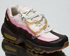 Nike Air Max 95 Cuban Links Women's Velvet Brown Pink Lifestyle Sneakers Shoes