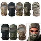 Mens Balaclava Camo Full Face Mask Hat Hood Cover Motorbike Hunting Headwear