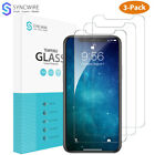 Syncwire 3Pack iPhone XR XS X XS MAX Screen Protector Tempered Glass 9H Hardness