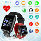 Waterproof Bluetooth Smart Watch Sport Fitness Tracker Wristband For Android iOS