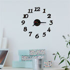 Large Wall Clock Big Watch Decal 3D Stickers Roman Numerals DIY Wall Modern GU