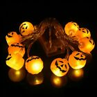 10LED Pumpkin Skull Shape String Lights Lamp DIY Hanging Halloween Decor