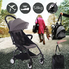 Lightweight Baby Stroller Pram Compact Foldable Pushchair Travel Carry-on Plane