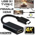 USB-C Type-C to HDMI HDTV Adapter Cable 4K 60Hz for Samsung S9 Note8 Macbook Pro