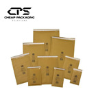 CPS Genuine Gold Jiffy Envelopes Bubble Padded Lined Mailers - 25 Pcs