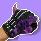 Game CS GO Case Purple Pink Gloves Prop Highly Restored One Pair Christmas Gifts