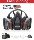 Respirator Half Face Gas Mask Painting Spraying High Safety Work Filter Mask NEW