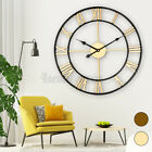 17.7 inch Large Retro European Style Home Garden Wall Clock Big Roman  ♡ ↑