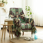 Fringed Throw Blanket Fleece Warm Cotton Sofa Bed Cover Area Rug Wall Hanging