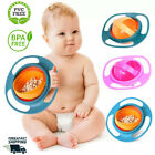 Universal Baby Gyroscopic Bowl with Smooth 360 Degree Rotation