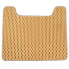 Slip-Resistant Cat Litter Mat Feeding Mat Scatter Control Double Layer Tray HY