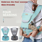 Ergonomic Infant Baby Carrier With Hip Seat Stool Adjustable Backpack Wrap Sling